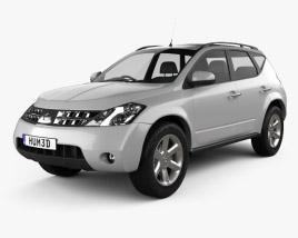 Nissan Murano (Z50) 2007 3D model