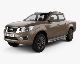 Nissan Navara Double Cab 2015 3D model