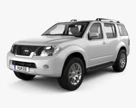 Nissan Pathfinder with HQ interior 2010 3D model