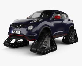 Nissan Juke Nismo RSnow 2015 3D model