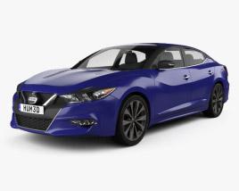 Nissan Maxima 2016 3D model