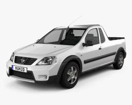 Nissan NP200 2009 3D model