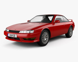 Nissan Silvia 1996 3D model