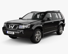 Nissan X-Trail 2004 3D model