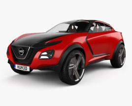 Nissan Gripz 2015 3D model