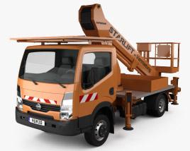 Nissan Cabstar Lift Platform Truck 2006 3D model