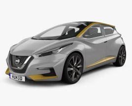 Nissan Sway 2015 3D model