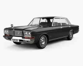 Nissan President Type D 1973 3D model