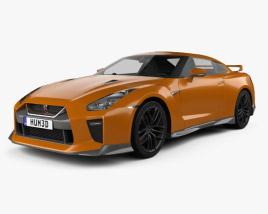 Nissan GT-R 2017 3D model