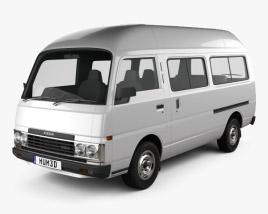 Nissan Caravan Urvan LWB HR 1985 3D model