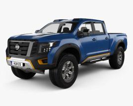 Nissan Titan Warrior 2016 3D model