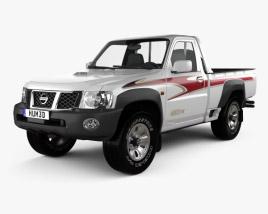 Nissan Patrol pickup 2016 3D model