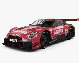 Nissan GT-R GT500 Motul 2017 3D model