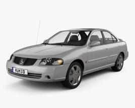 Nissan Sentra SE-R 2004 3D model
