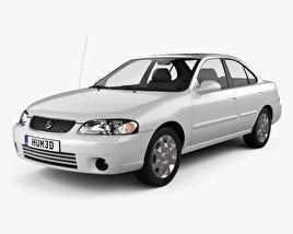 Nissan Sentra GXE 2001 3D model