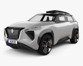 Nissan Xmotion 2018 3D model