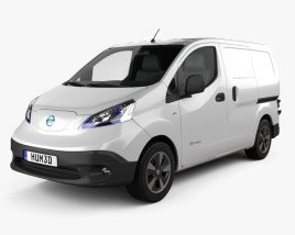 Nissan e-NV200 van 2014 3D model