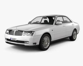 Nissan Cedric sedan 1999 3D model