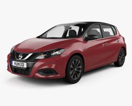 Nissan Tiida 2021 3D model