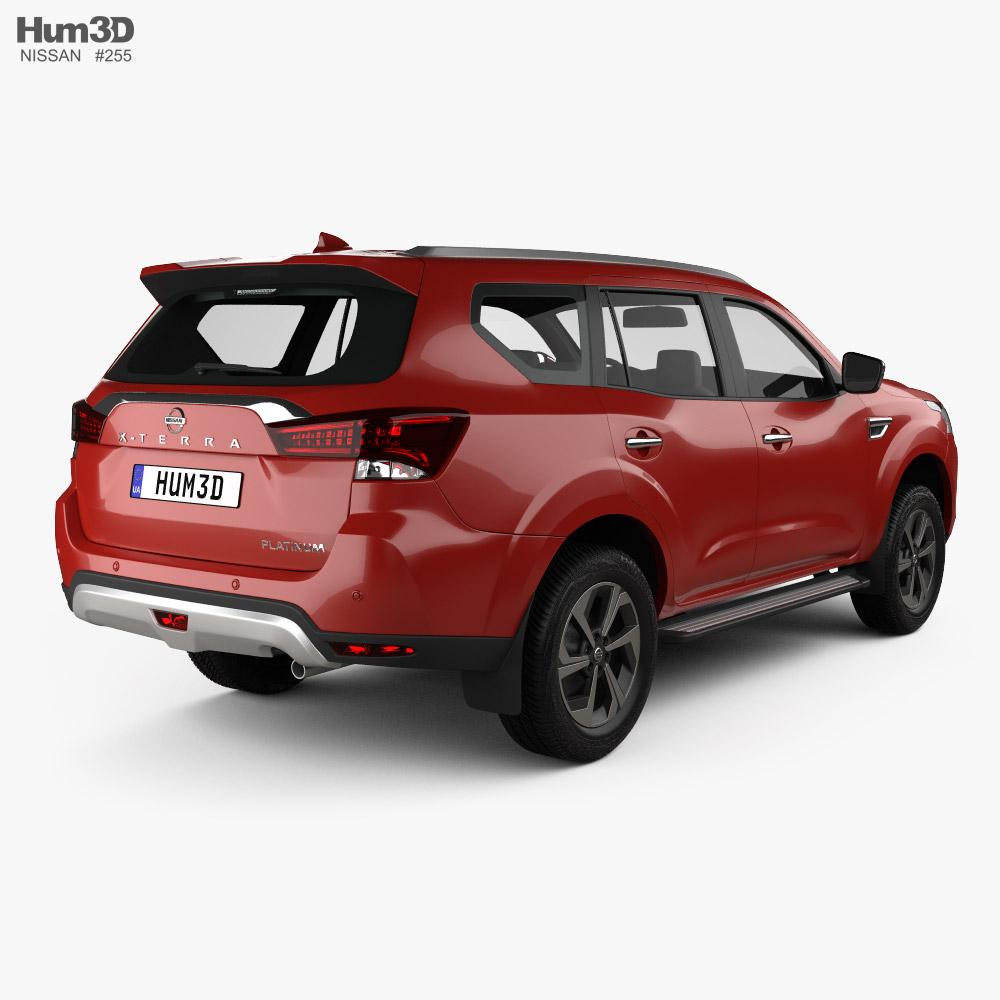 Nissan XTerra Platinum 2020 3D model - Vehicles on Hum3D