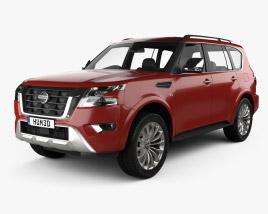 Nissan Armada 2021 3D model