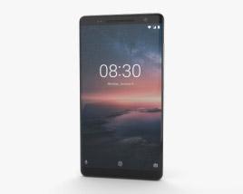 Nokia 8 Sirocco Black 3D model
