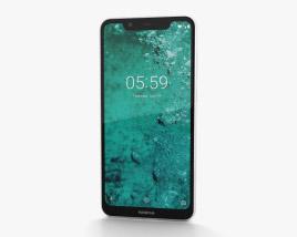 Nokia 5.1 Plus Glacier White 3D model