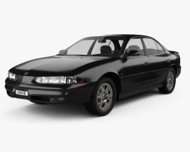 Oldsmobile Intrigue 1998 3D model