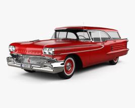 Oldsmobile Dynamic 88 Fiesta Holiday 1958 3D model