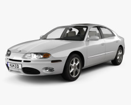 Oldsmobile Aurora with HQ interior 1999 3D model