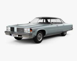 Oldsmobile 98 Regency 1976 3D model