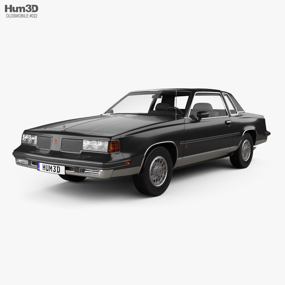 Oldsmobile Cutlass Supreme Brougham coupe 1987 3d model