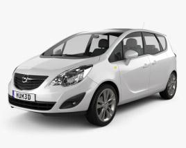 Opel Meriva B 2011 3D model