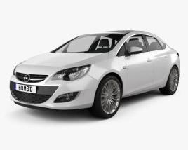 Opel Astra J sedan 2012 3D model