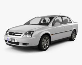 Opel Vectra sedan 2002 3D model