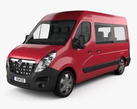 Opel Movano Passenger Van 2010 3D model