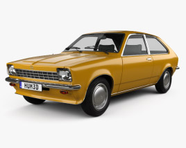 Opel Kadett City 1975 3D model