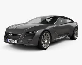 Opel Monza 2013 3D model