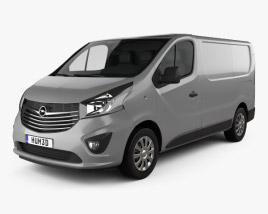 Opel Vivaro Panel Van L1H1 2014 3D model