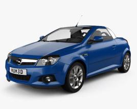 Opel Tigra TwinTop 2004 3D model