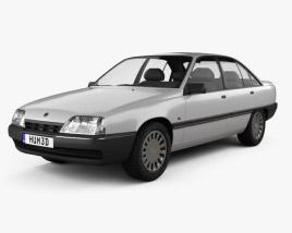 Opel Omega (A) 1987 3D model