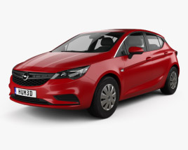 Opel Astra K Selection 2016 3D model