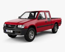 Opel Campo Sports Cab 1997 3D model