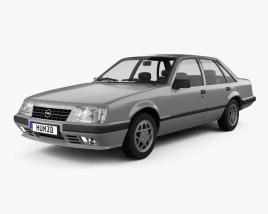 Opel Senator 1982 3D model