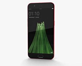 Oppo R11 Red 3D model