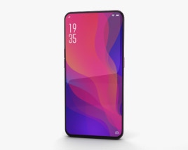 Oppo Find X Bordeaux Red 3D model
