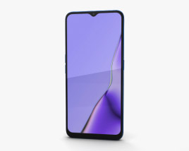 Oppo A9 Space Purple 3D model