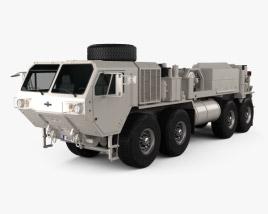 Oshkosh HEMTT M984A4 Wrecker Truck 2011 3D model