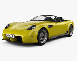 Panoz Esperante Spyder GT 2015 3D model