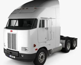 Peterbilt 372 Tractor Truck 1988 3D model
